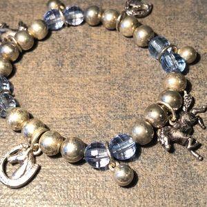 🌸2/$10 Horse Lover Bracelet, Horse Charm